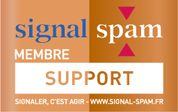 LOGO SIGNAL SPAM BRONZE